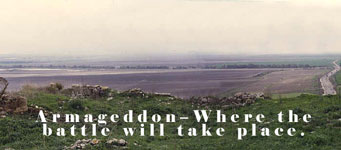 Photo of Armageddon-Where the battle will take place.